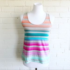 Threads 4 Thought striped soft bright tent tank